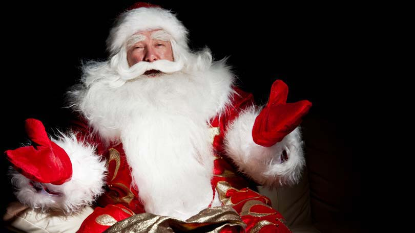 is santa real   those that believe will receive