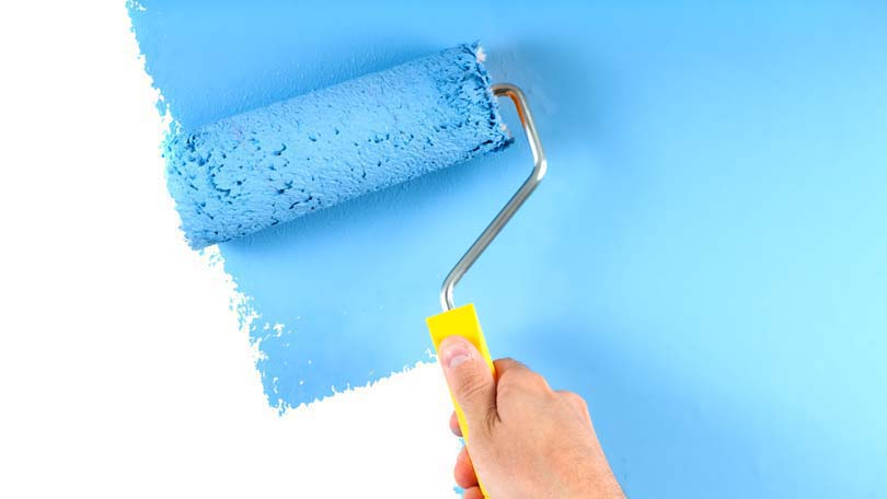 how to remove paint from a carpet