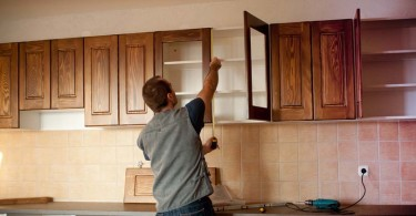 Covering Laminate Cupboards