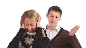 Exaggerating and Ad-Libbing When Arguing with your Spouse