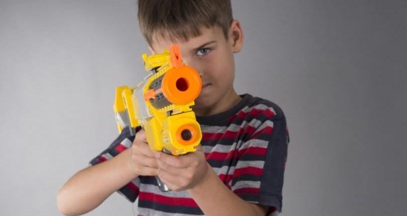 child-with-toy-gun