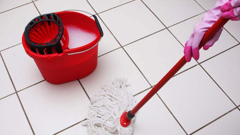 Cleaning Tile Floors How To Remove The Dirt And Grim - Clean tile floors without residue